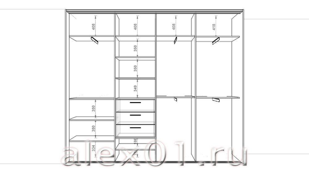 Шкаф купе своими руками проектирование чертежи и схемы фото 21